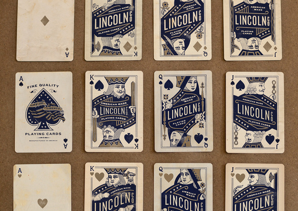 Lincoln4.jpg #cards #playing