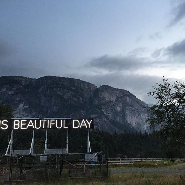 Beautiful Day in Squamish, BC