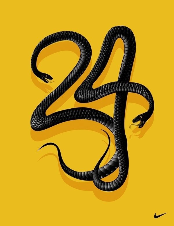 Black Mamba-Nike on Typography Served #snake #type #nike #typography