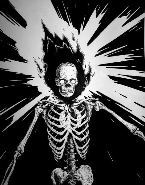 Zoom Photo #exploding #skeleton