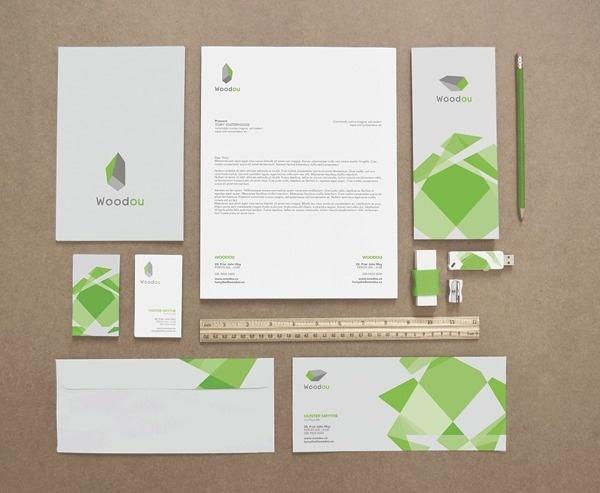 Woodou | Dynamic identity on Behance #dynamic #design #corporate #brand #identity #logo