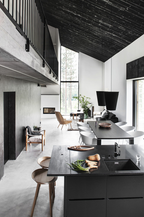 floor to ceiling SEB: floor + black railguards (?) #interior #places
