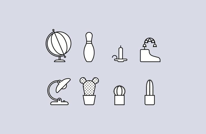 Atto - Graphic Design #line #icon #simple #picto #symbol