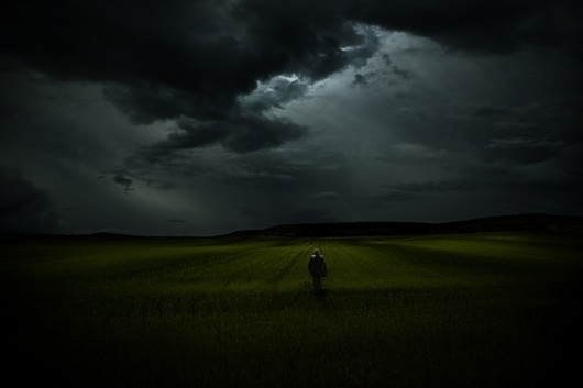 Landscapes on Photography Served #spain #cloudy #solitary #landscape #photography #dark #green