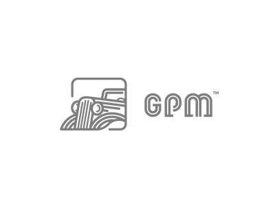 Dribbble - GPM by Mateusz Turbiński #vector #car #linework