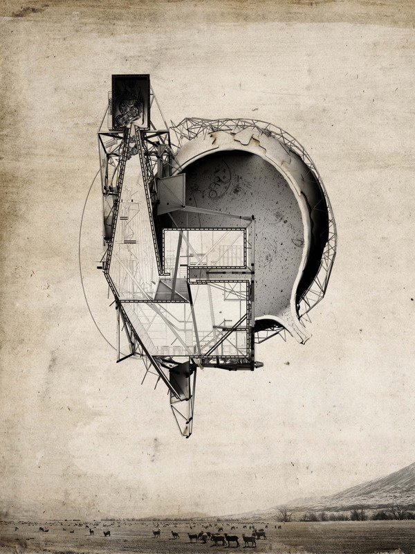 "CJWHO ™ (""QUARANTENA"" by Robert Scott Gilson (B.Arch...) #design #illustration #concept #architecture #art #drawing"
