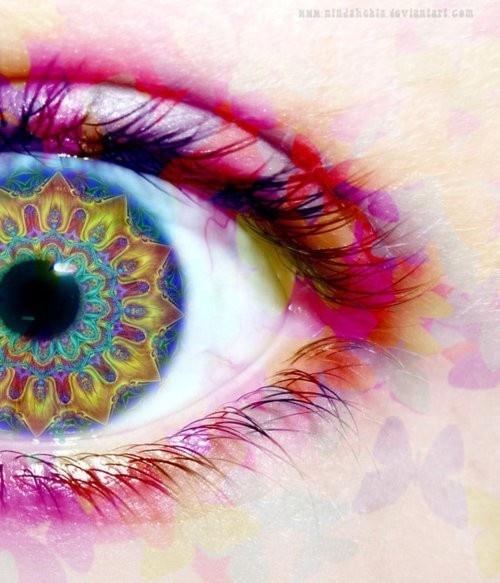 Gypsy eye #eye #colour #gypsy