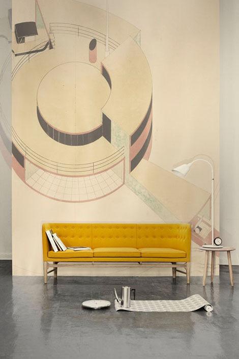 Диван «Mayor Sofa» от Эмиля Арне Якобсена #interior #furniture #sofa #vintage
