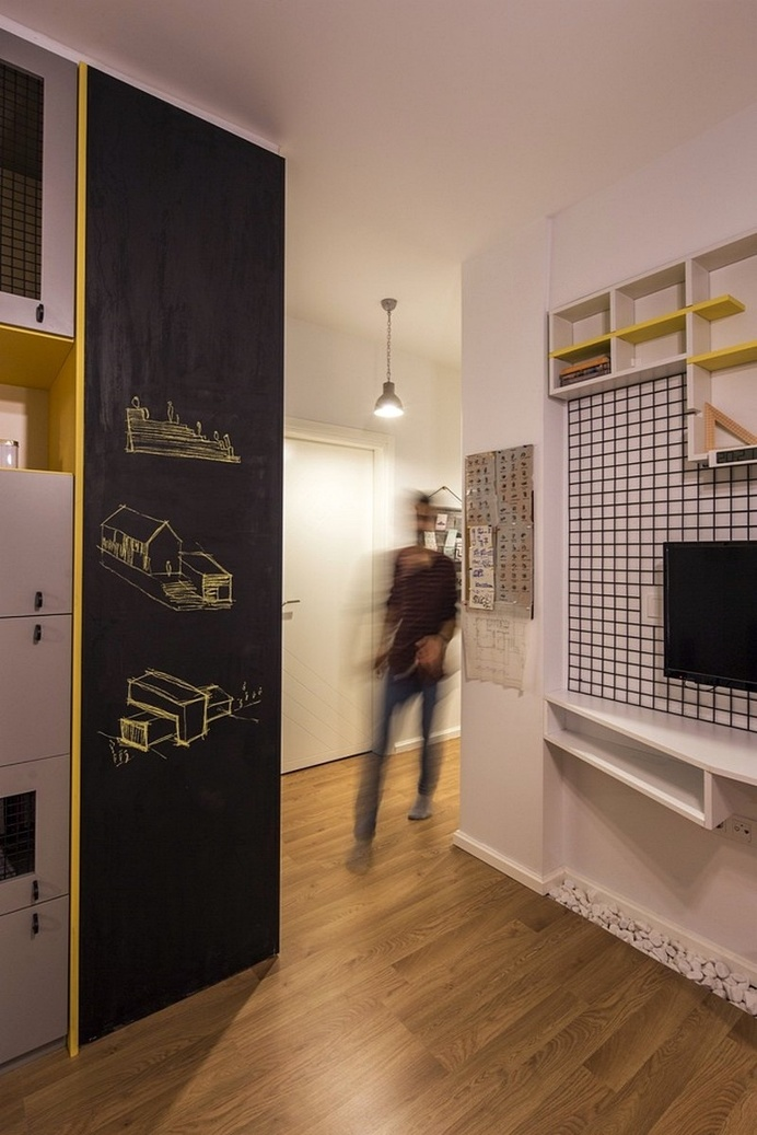 Levent Apartment in Istanbul by COA Mimarlık