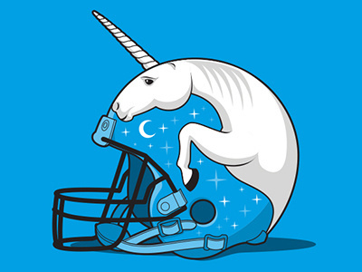Fantasy Unicorn Football #unicorn