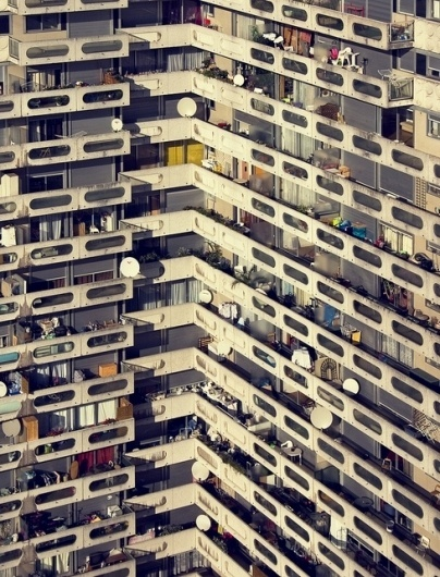 Horst Hubert #urban #photography #architecture #balcony