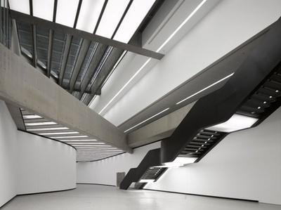 MAXXI National Museum of XXI Century Arts byZaha Hadid #architecture #zaha hadid