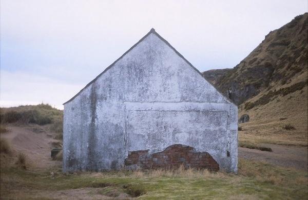 Scotland   Triangular Love. #house #uk #portrait #scotland #beach