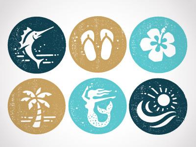Icons #beach #icons