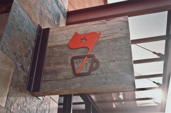 Salih Kucukaga Design Studio via www.mr cup.com #signage #logo #design