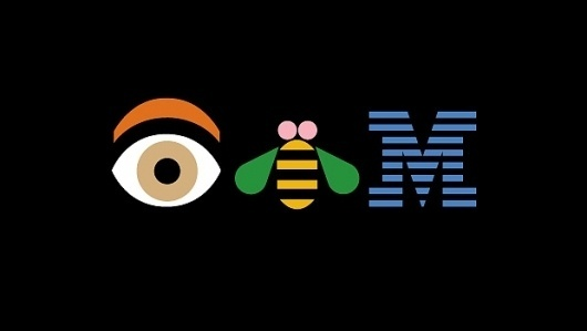 IBM100 - Good Design Is Good Business #bee #rand #eye #ibm #logo #paul