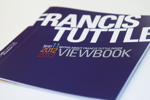 Francis Tuttle High School View Book 2011-2012 #francis #catalog #school #print #publication #typographic #design #cover #type #technology #center #training #education #myth #typography #career #designer #tuttle #graphic #educate #brochure