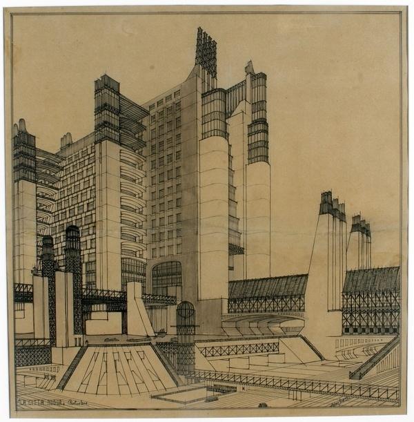 A Brief History Of Modern Architecture Through Movies Architizer #futurist #antonio #architecture #santelia #sketch #rendering