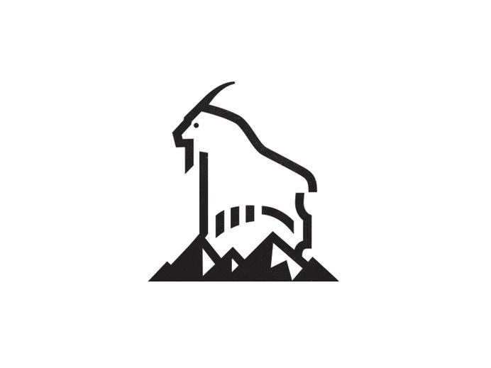 Best Logo Mark Symbol Mountain Goat images on Designspiration