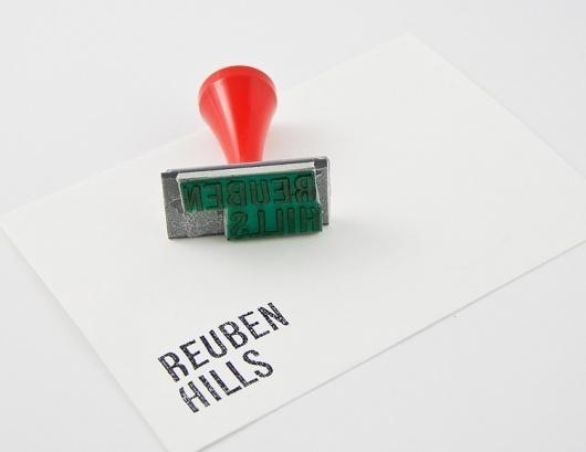 Reuben Hills - Luke Brown #stationary