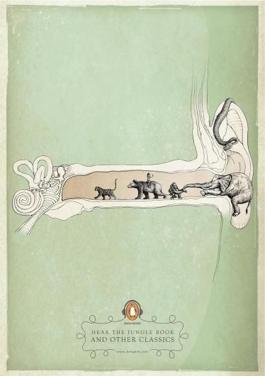 penguin_audiobooks_the_jungle_book.jpg (1131×1600) #illustration #book #jungle