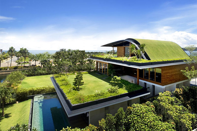 Green Facade - Eco Friendly Architecture