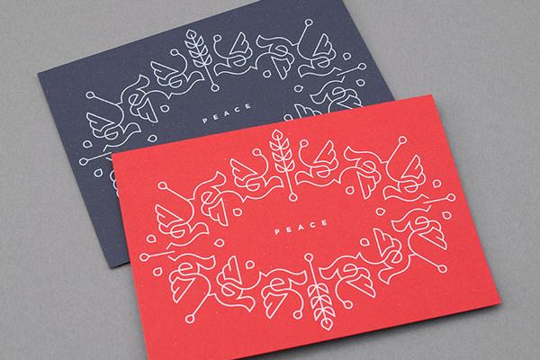 Christmas card 2012 › Dan Forster #card #screenprint #holiday
