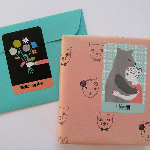Stickers | Flickr - Photo Sharing! #packaging #gift #stickers