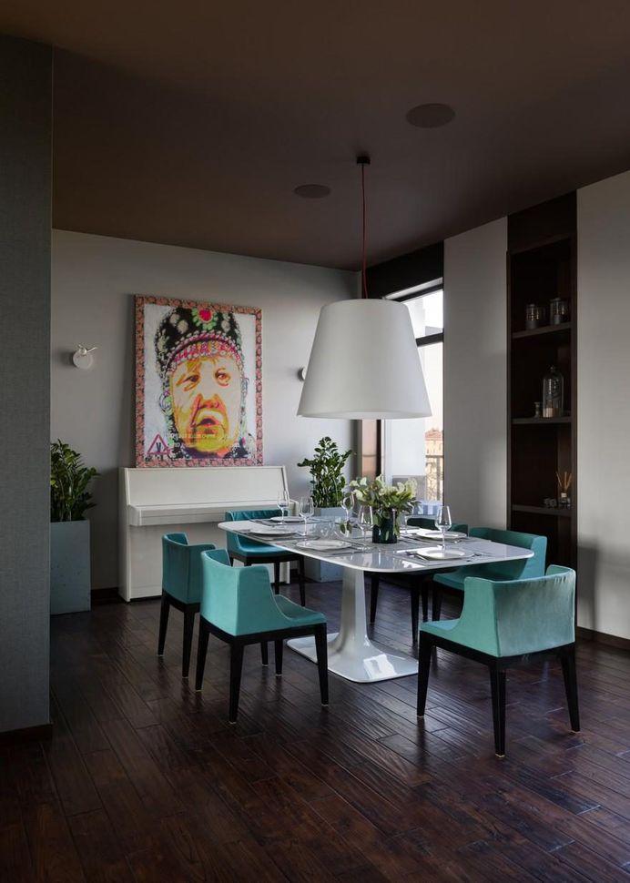 Two-Storey Apartment Georgievskiy by Dreamdesign 1