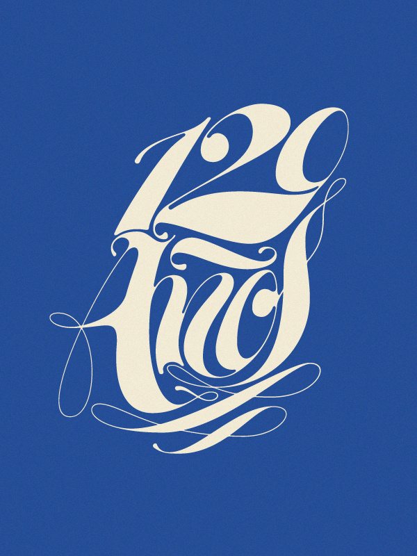 120 Años on Behance #type