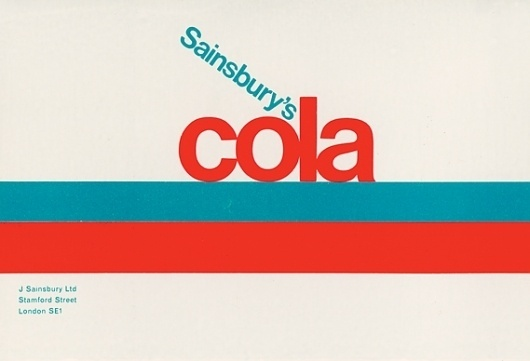 Creative Review - When Sainsbury's was out on its own #packaging #vintage