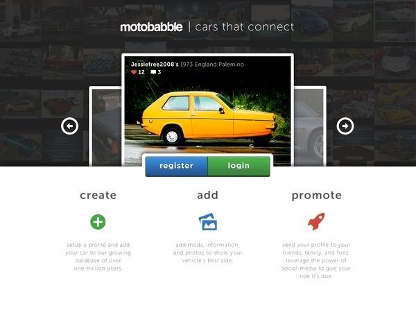 Landing #page #website #cars #web #landing