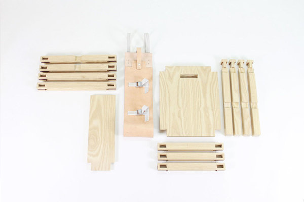 Nomadic Chair by Jorge Penadés #modern #design #minimalism #minimal #leibal #minimalist
