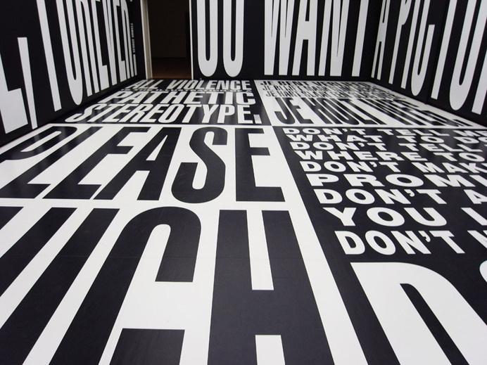 kruger #black&white #space #kruger #large #type #room