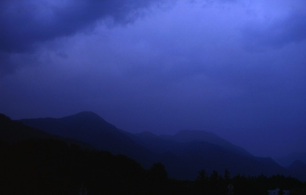 _:_:_ | Triangular Love. #triangle #photography #blue #mountains #love