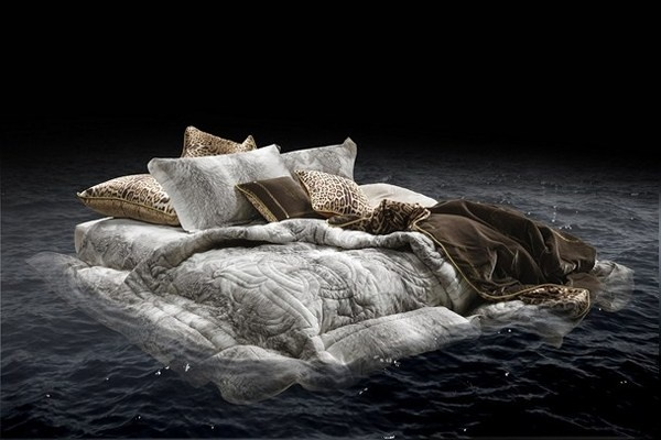 Artistic home collection by Roberto Cavalli Jetty Sunrise bed #accessories #artistic #collection #home #furniture #cavalli #art #roberto