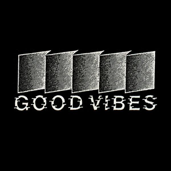 Good Vibes Italian record label #retro #good #label #record #vibes #logo #typo #typography