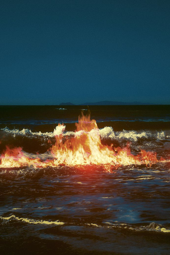 "officialneilkrug: "" Ocean Fire Photograph by Neil Krug http://instagram.com/neilkrug """
