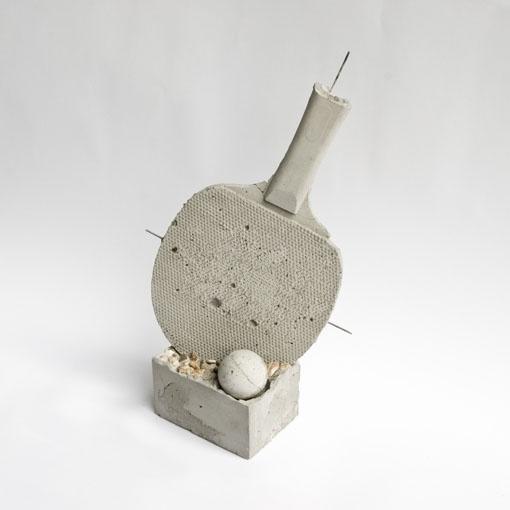 RESTLESS BATS   troika.uk.com #sculpture #pong #beton #sports #ping