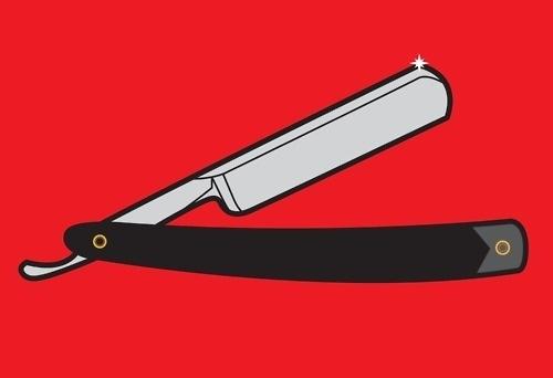 Tim Swan's blog #barber #blade #illustration #knife #drawing