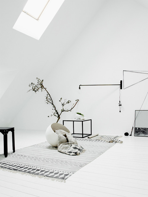 white #interior