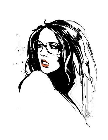 FFFFOUND! | Stephane Manel - Illustrators & Artists Agents – Debut Art #white #stephane #black #manel #and