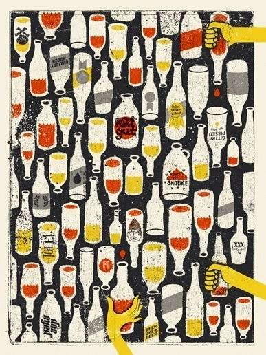 doe-eyed | illustration #beer #illustration #print #screen