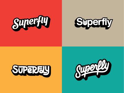 Superfly Logo Variations #logo #branding #identity