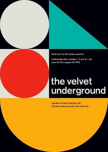velvet_underground.jpg (716×1008) #international #swiss #typographic #minimal #style