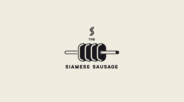 LOGOS .3 #logo #sausage #siamese