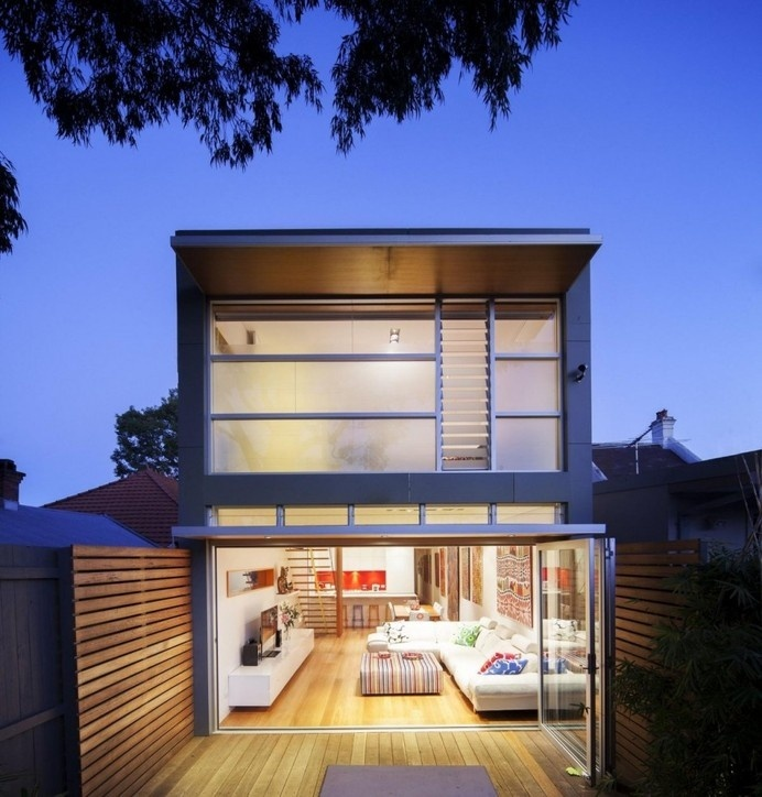 Modern Addition to Heritage Home in Sydney: 46 North Avenue Project #architecture #modern