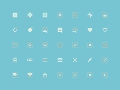Flat icons #icon