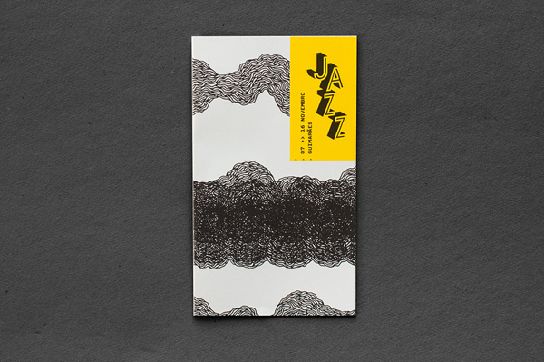 Guimarães Jazz 2013 on Behance #guide #jazz #print #design #graphic #book #portugal #music #typography