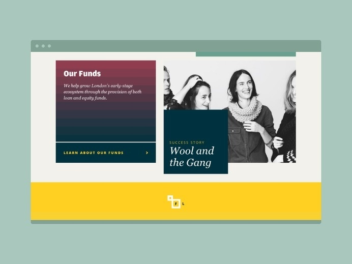 Funding London Website #website #design #web